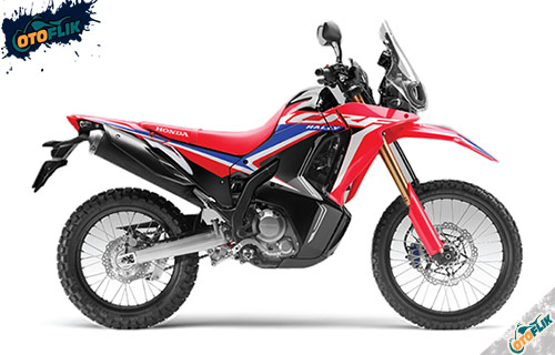 Honda CRF250 Rally Extreme Red