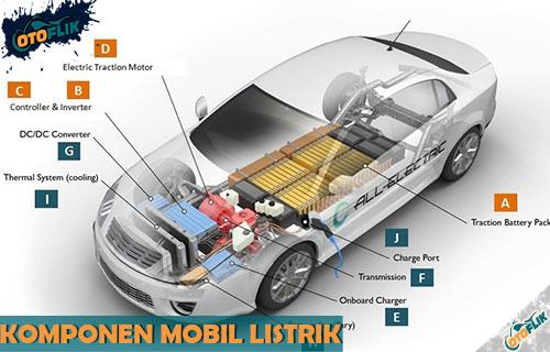 Komponen Mobil Listrik dari Fungsi dan Gambar