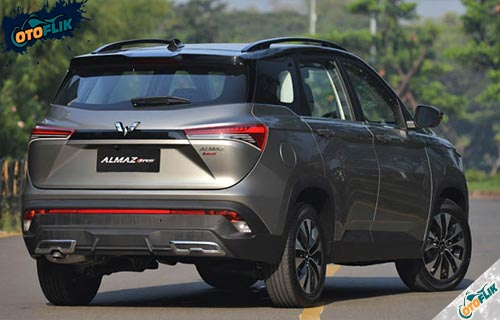 Performa Mobil Wuling Almaz RS