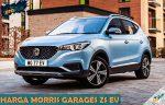 Harga Morris Garages ZS EV dari Review Spesifikasi Tipe Warna