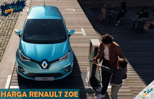 Harga Renault Zoe Indonesia Beserta Review dan Spesifikasi