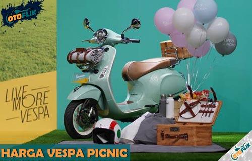 Harga Vespa Picnic Terbaru dari Review Spesifikasi Fitur dan Warna