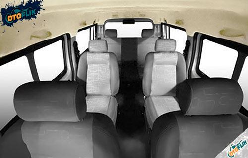 Interior Mobil Listrik DFSK Gelora E