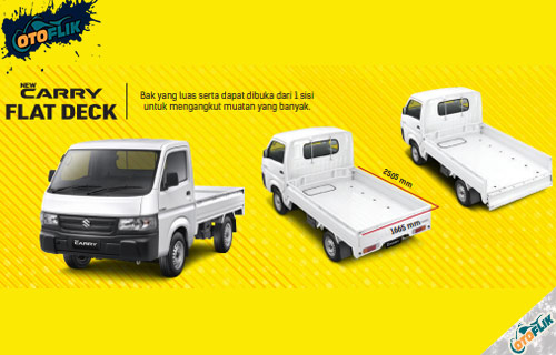 Mobil New Carry Pick Up Flat Deck
