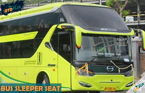 Rekomendasi Bus Sleeper Seat Termewah dan Nyaman di Indonesia