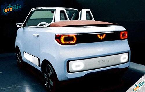 Spesifikasi Wuling Mini EV Cabrio