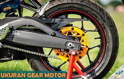 Ukuran Gear Motor Standar dari Fungsi Kode Cara Baca