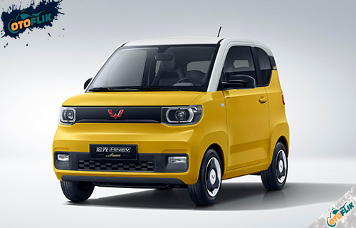 Wuling Mini EV Macaron Lemon Yellow