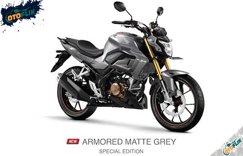 All New Honda CB150R Armored Matte Grey Spesial Edition
