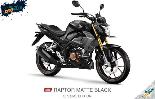 All New Honda CB150R Raptor Matte Black Spesial Edition