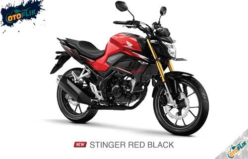 All New Honda CB150R Stinger Red Black