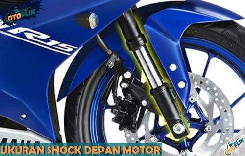 Daftar Tabel Ukuran Shock Depan Motor Semua Tipe dan Varian
