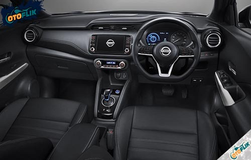 Desain Interior Nissan Kicks e Power