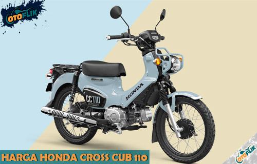 Harga Honda Cross Cub 110 dari Review Spesifikasi dan Warna