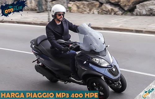 Harga Piaggio MP3 400 HPE Terbaru dari Review Fitur dan Spesifikasi