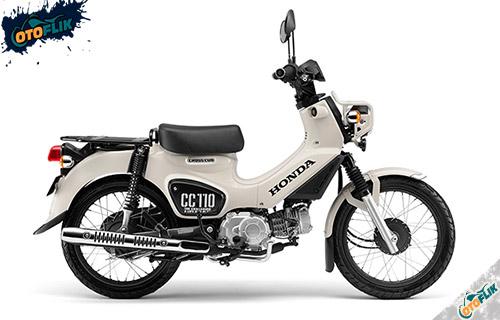 Honda CC110 Classical White