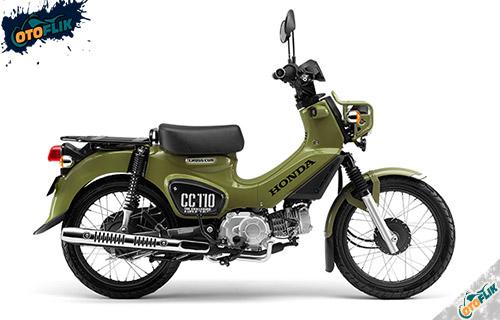 Honda CC110 Comouflage Green