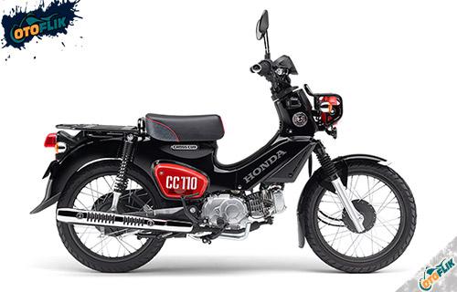 Honda Cross Cub 110 Graphite Black