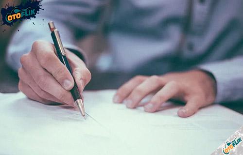 Isi Surat Perjanjian Over Kredit Motor