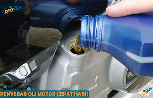 Penyebab Oli Motor Cepat Habis dari Ciri dan Cara Mengatasi