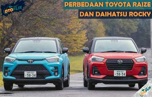 Perbedaan Toyota Raize dan Daihatsu Rocky Terlengkap