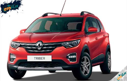 Renault Triber Red Ruby