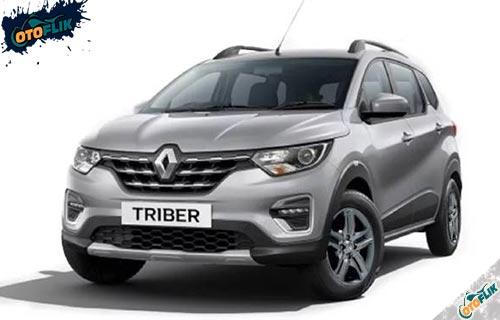 Renault Triber Silver Obsidian