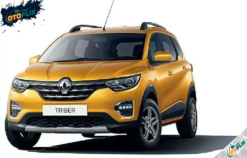 Renault Triber Yellow Topaz