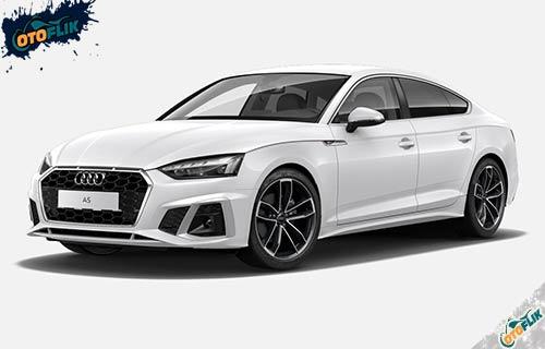 Audi A5 Sportback Ibis White