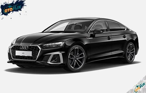 Audi A5 Sportback Mythos Black Metallic