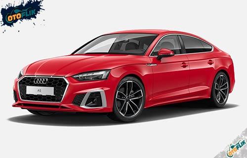 Audi A5 Sportback Tango Red Metallic