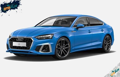 Audi A5 Sportback Turbo Blue