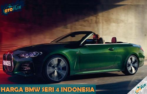 Harga BMW Seri 4 Indonesia dari Review Spesifikasi