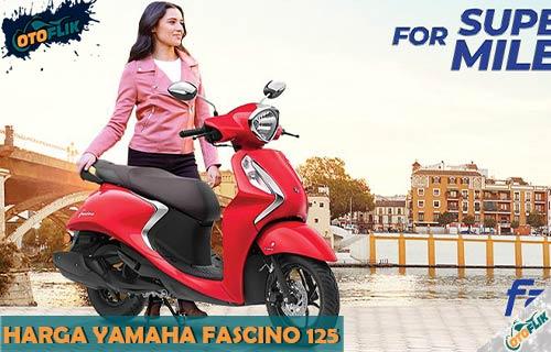 Harga Yamaha Fascino 125 Fi Terbaru