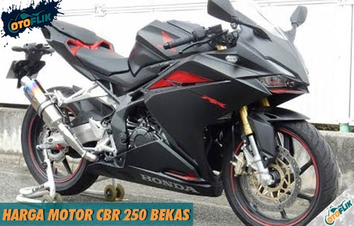 Harga Motor CBR 250 Bekas