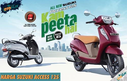 Harga Suzuki Access 125 dari Fitur Warna dan Simulasi Kredit