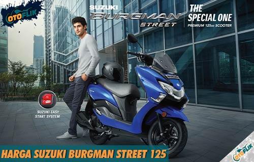 Harga Suzuki Burgman Street 125 dari FiturWarna dan Simulasi Kredit