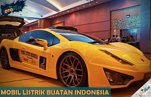 Mobil Listrik Buatan Indonesia Terbaik