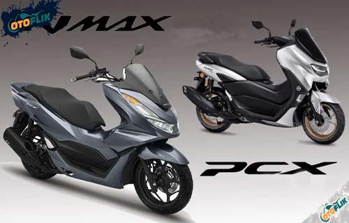Penjualan Yamaha Nmax VS Honda PCX