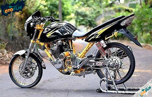 Perbedaan Motor Herex Thailook Dragbike
