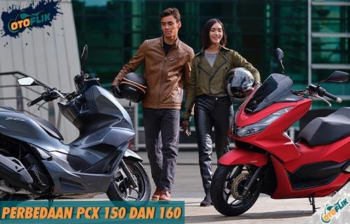 Perbedaan PCX 150 dan 160
