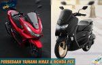 Perbedaan Yamaha Nmax dan Honda PCX