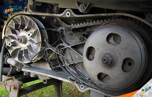 Waktu Tepat Ganti V Belt Motor Matic