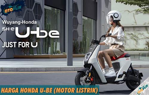 Harga Honda U BE dari Fitur Spesifikasi dan Warna