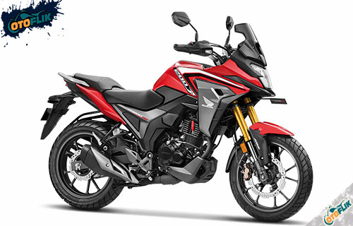Honda CB200X Sport Red