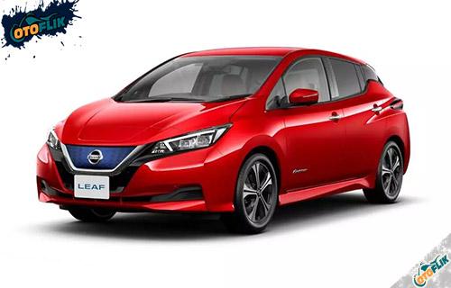 Nissan Leaf Radiant Red