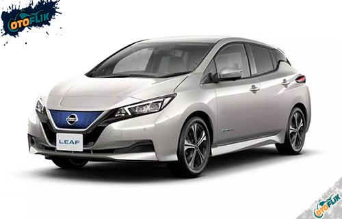 Nissan Leaf White Pearl