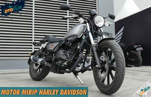 Rekomendasi Motor Mirip Harley Murah Terbaik