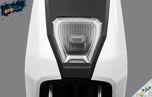 Tampak Depan Honda U BE