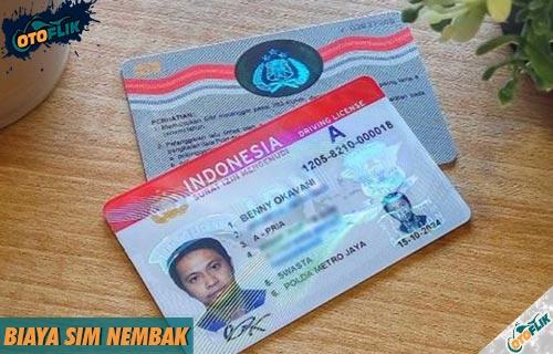 Biaya SIM Nembak Semua Jenis dan Penjelasan Lengkap